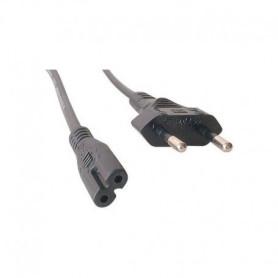 Câble alimentation chargeur ordinateur portable Europe bipolaire
